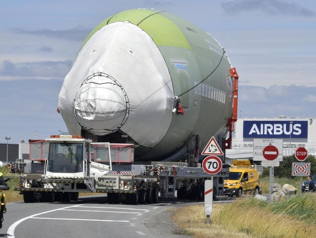 Noticias de aviones. Noticias de aerolíneas. Transportando la cabina de un Airbus A380