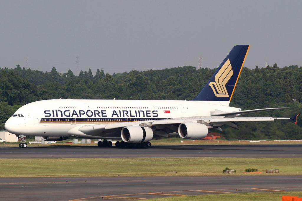 Noticias de aviones. Noticias de aerolíneas. Primer Airbus A380 de Singapore Airlines