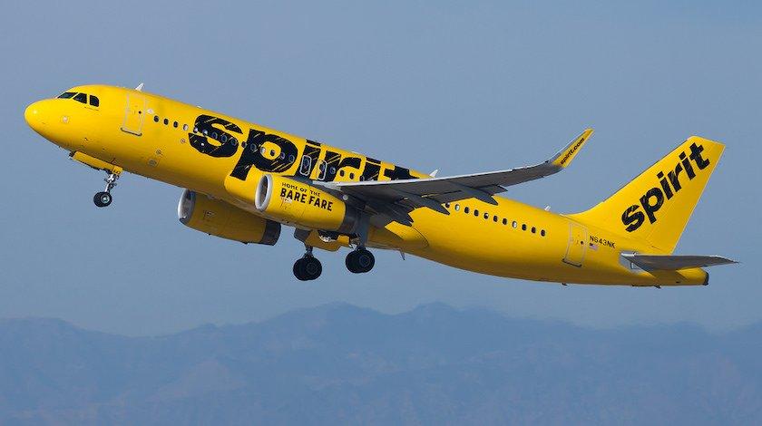 Noticias de aerolíneas. Noticias de compañías aéreas. Airbus A320 de Spirit Airlines
