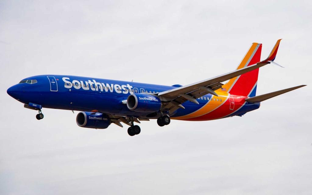 Noticias de aerolíneas. Noticias de compañías aéreas. Boeing 737 de Southwest