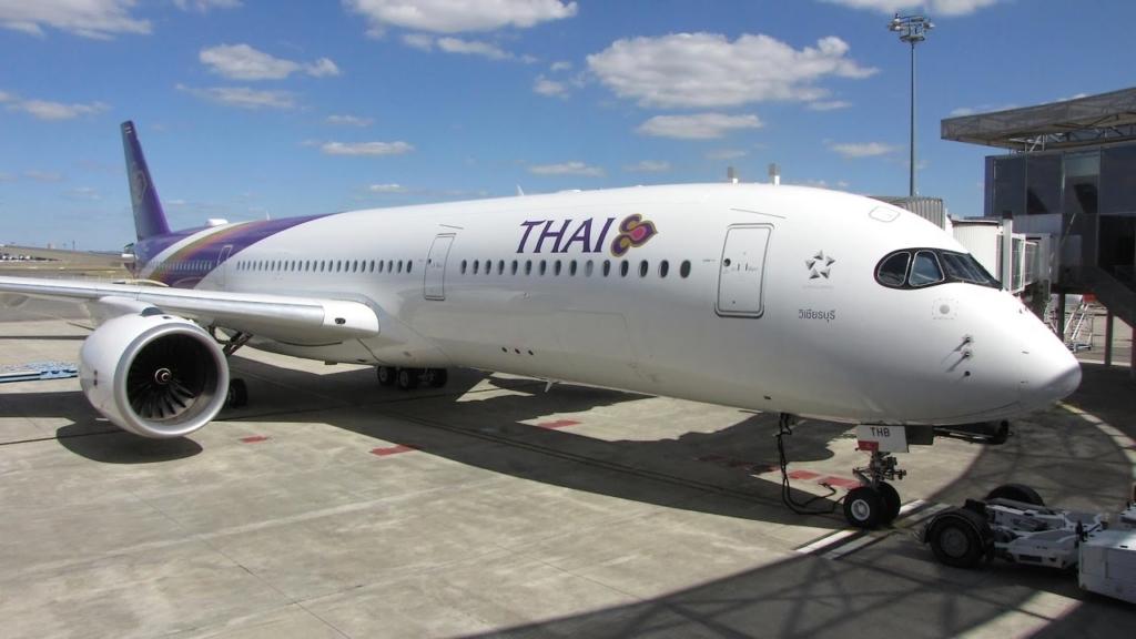 Noticias de aerolíneas. Airbus A350 de Thai Airways