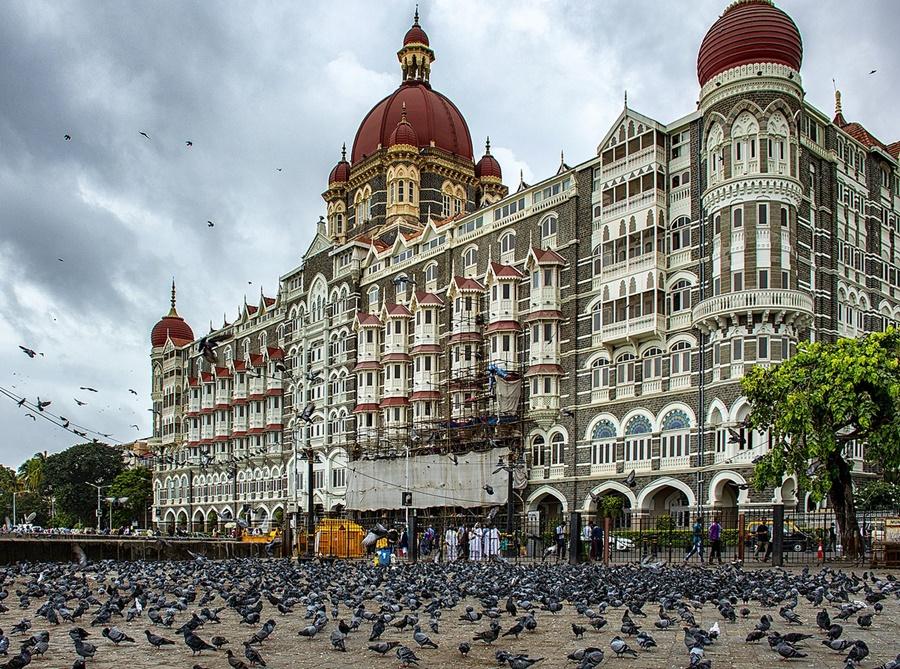 Noticias de hoteles. Noticias de turismo. Hotel Taj Mahal en la ciudad india de Bombay