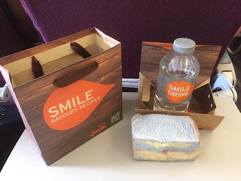 Noticias de aerolíneas. Comida gratuita en los aviones de Thai Smile
