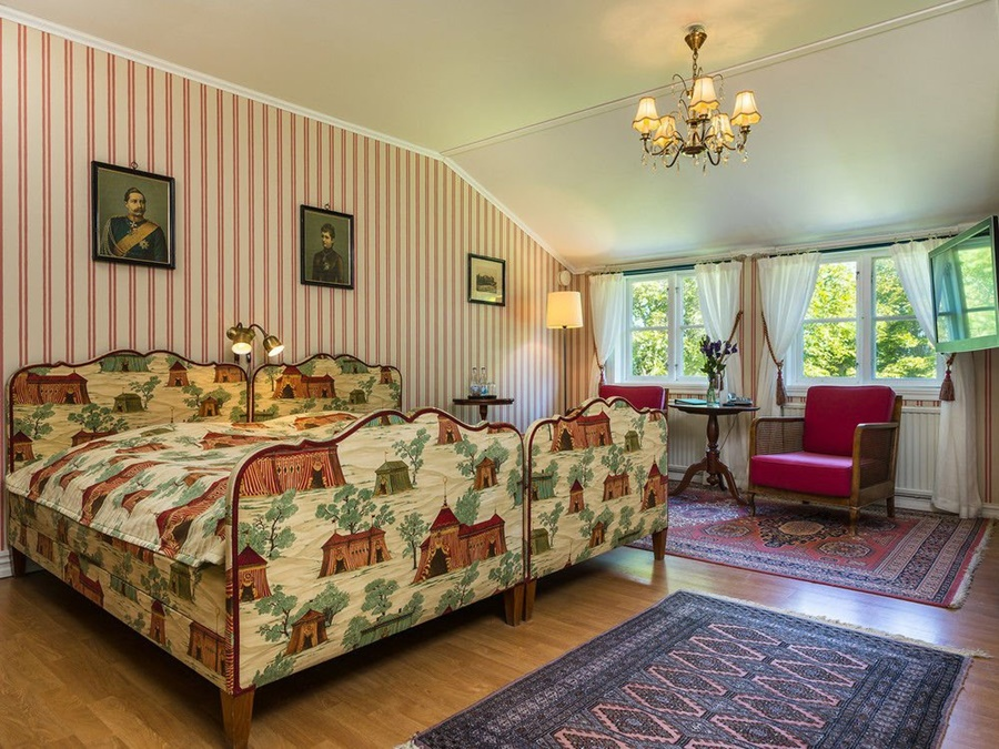 Noticias de hoteles. Noticias de turismo. Habitación del Hotel Toftaholm Herrgard