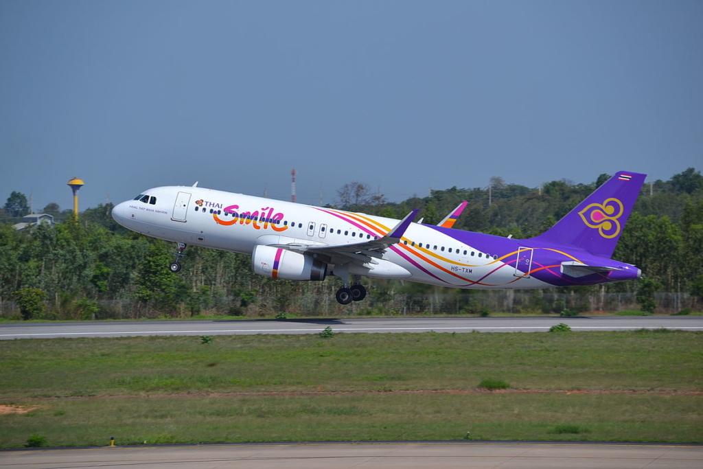 Noticias de aerolíneas. Airbus A320 de Thai Smile