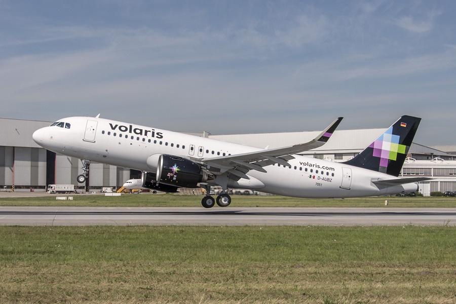 Noticias de aerolíneas. Airbus A321neo de Volaris