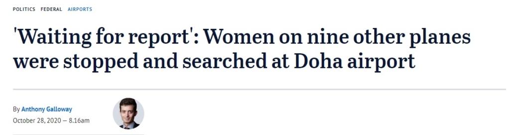 Noticias de aeropuertos. Noticias de aerolíneas. Artículo publicado en el diario australiano WA Today