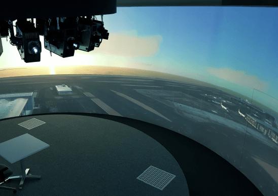 Noticias de aeropuertos. Noticias de controladores. Simulador ATC en aeropuerto de Hamad, Qatar.