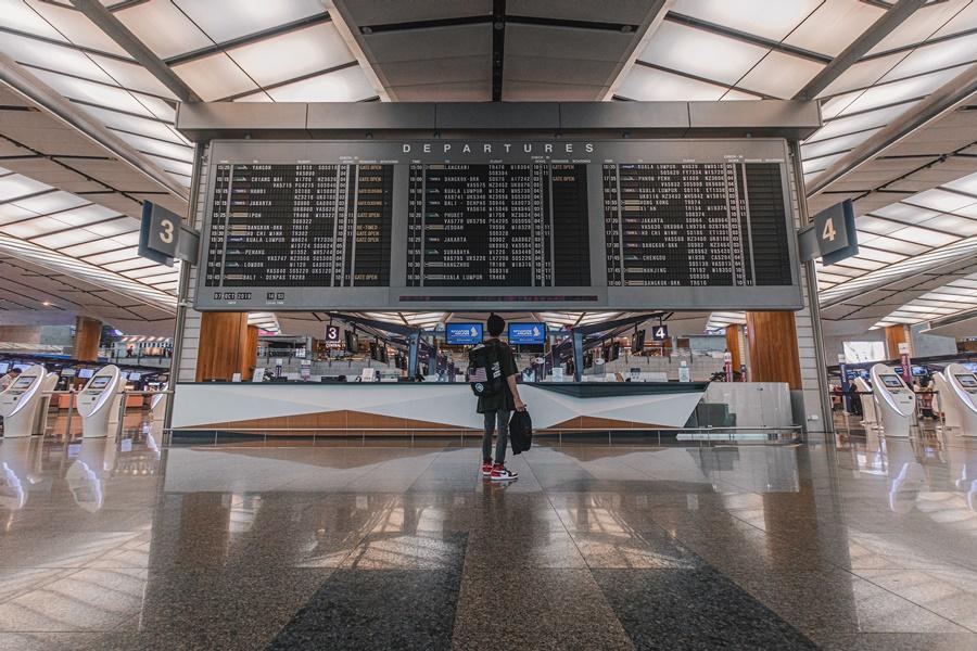 Noticias de aerolíneas. Noticias de aeropuertos. Terminal aeropuerto de Changui en Singapur