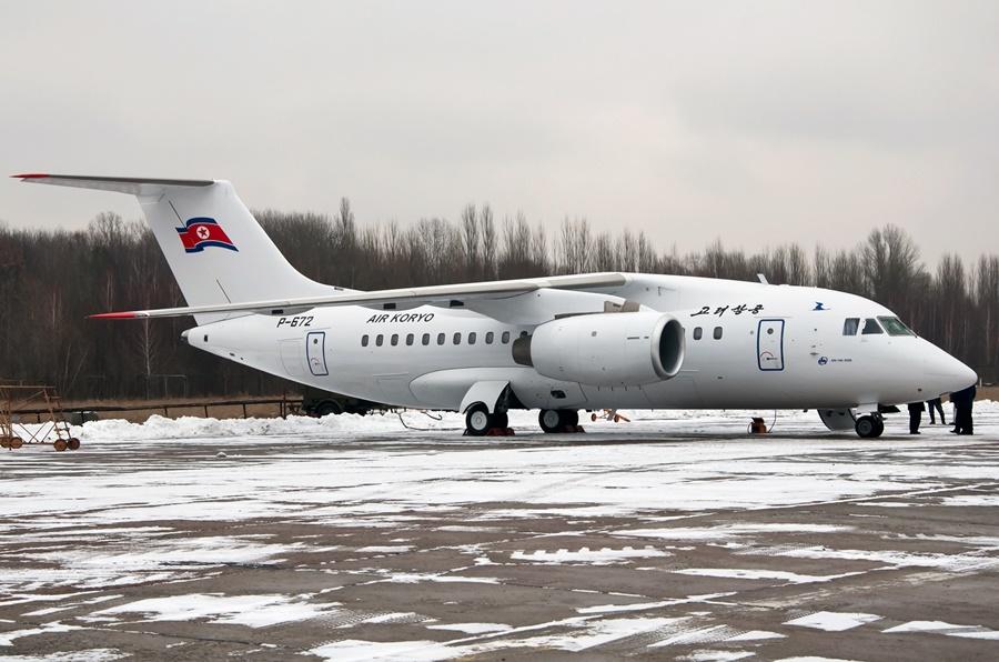 Noticias de aerolíneas. Noticias de aviones. Antonov AN-148 de Air Koryo