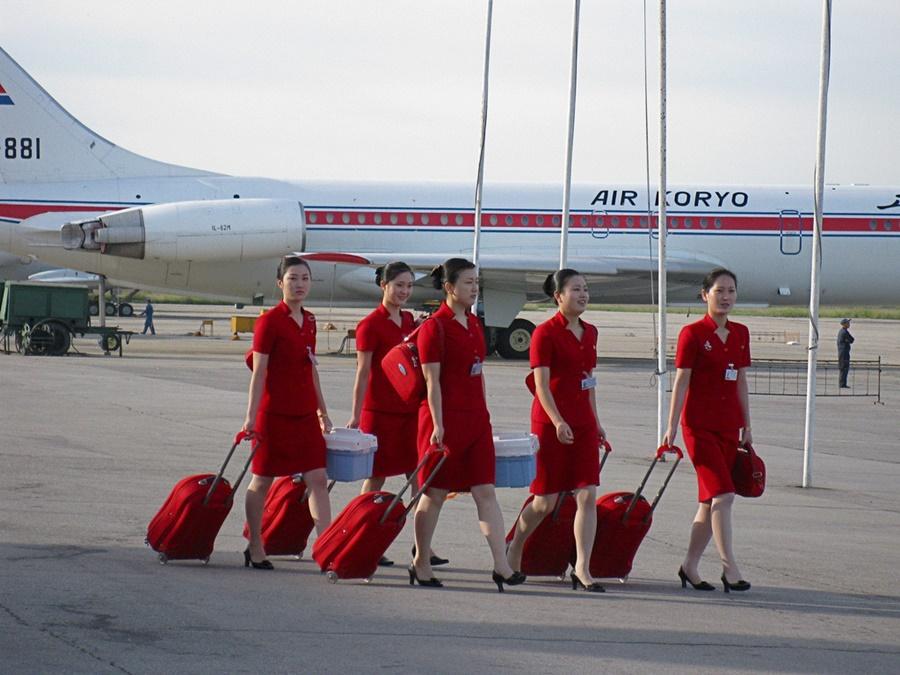 Noticias de aviones. Noticias de aerolíneas. Tripulación de Air Koryo