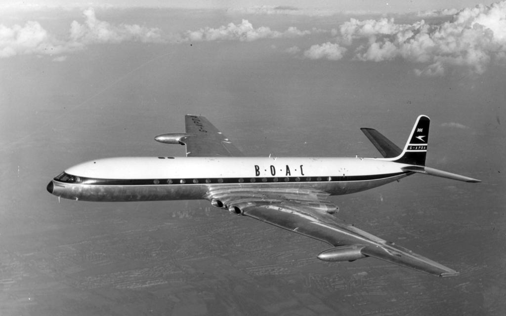 Noticias de aerolíneas. Noticias de aviones. De Havilland de la aerolínea inglesa BOAC