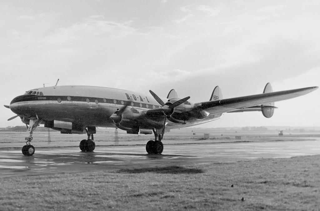 Noticias de aerolíneas. Noticias de aviones. Lockheed Constellation de BOAC