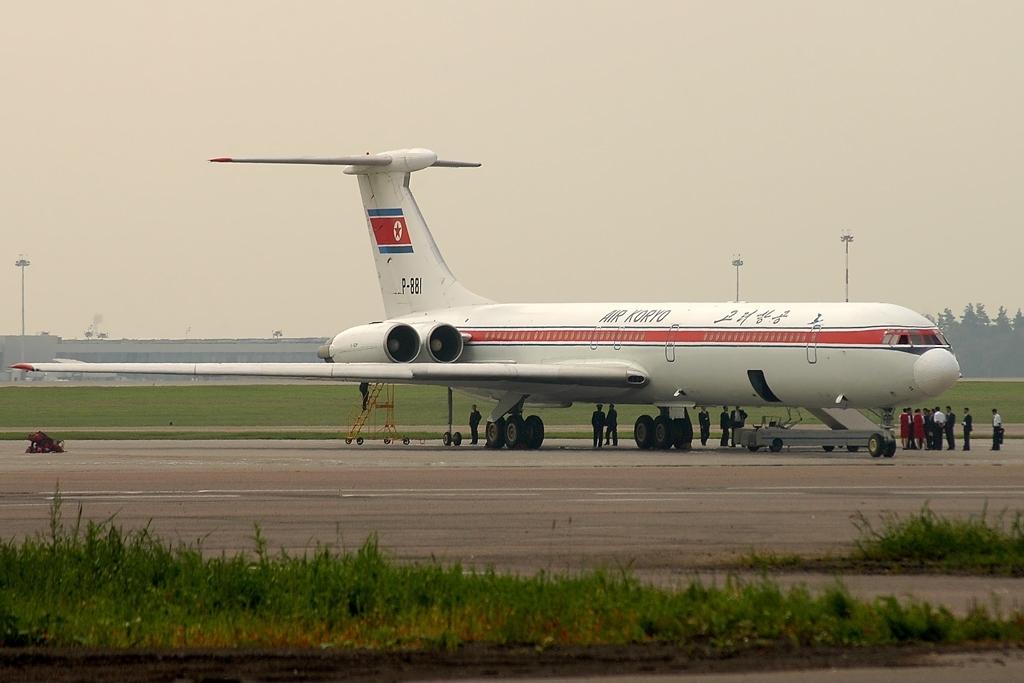 Noticias de aerolíneas. Noticias de aviones. IL-62 de Chosongminhang.