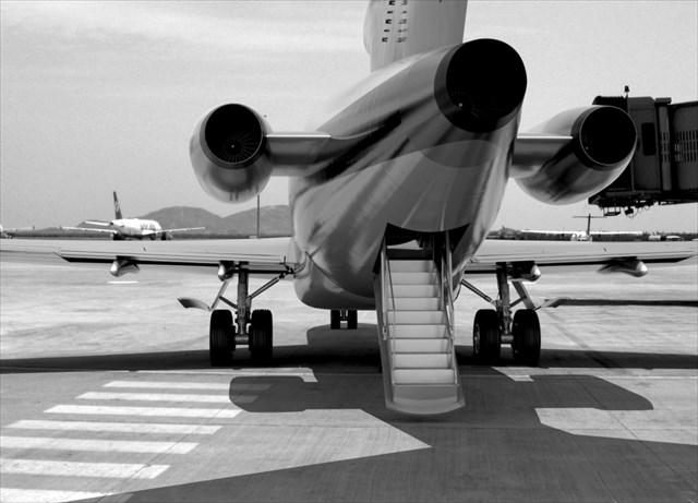 Noticias de aviones. Noticias de compañías aéreas. Parte trasera de un Boeing 727