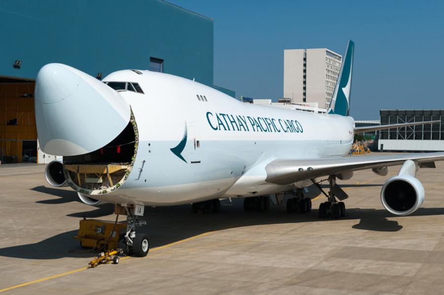 Noticias de aerolíneas. Noticias de aviones. Noticias de aeropuertos. Boeing 747 de Cathay Pacific Cargo