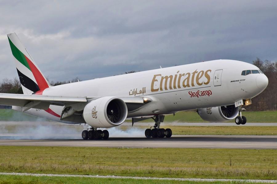 Noticias de aerolíneas. Noticias de aviones. Noticias de aeropuertos. Boeing 777F de Emirates Sky Cargo