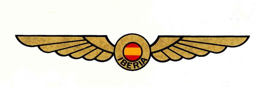 Noticias de aerolíneas. Logo de Iberia en 1939