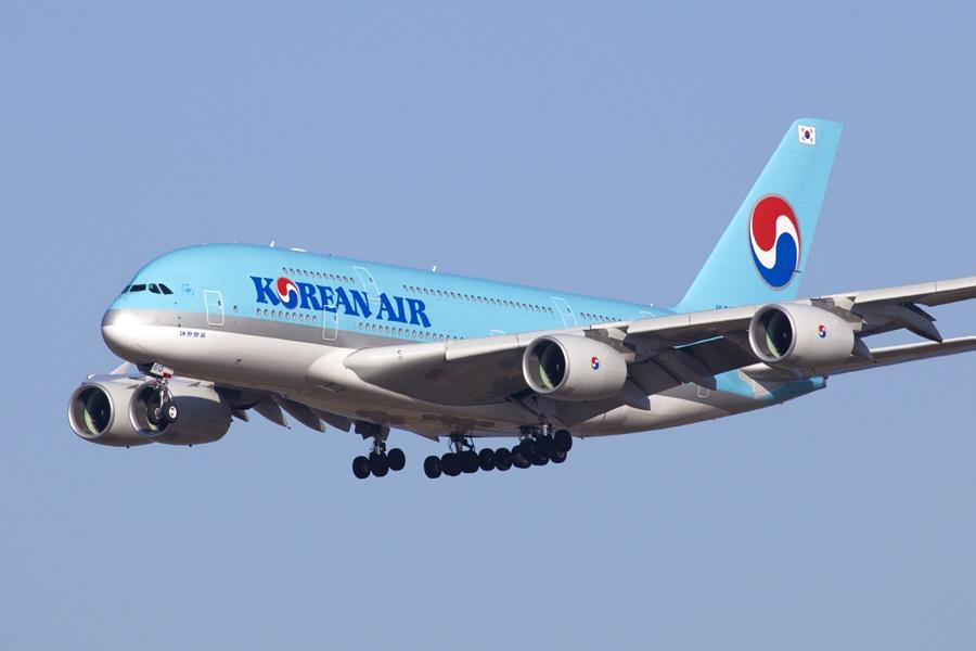 Noticias de aerolíneas. Noticias de aviones. Airbus A380 de Korean Air