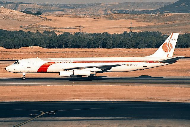 Noticias de aerolíneas. Noticias de aviones. DC8 de Cargosur