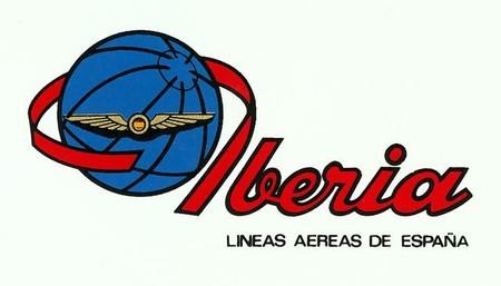 Noticias de aerolíneas. Logo de Iberia en 1953
