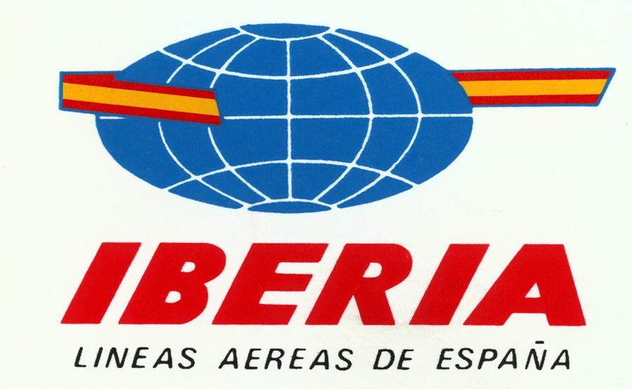Noticias de aerolíneas. Logo de Iberia en 1962