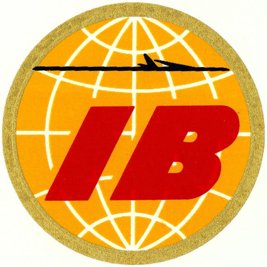 Noticias de aerolíneas. Logo de Iberia en 1967