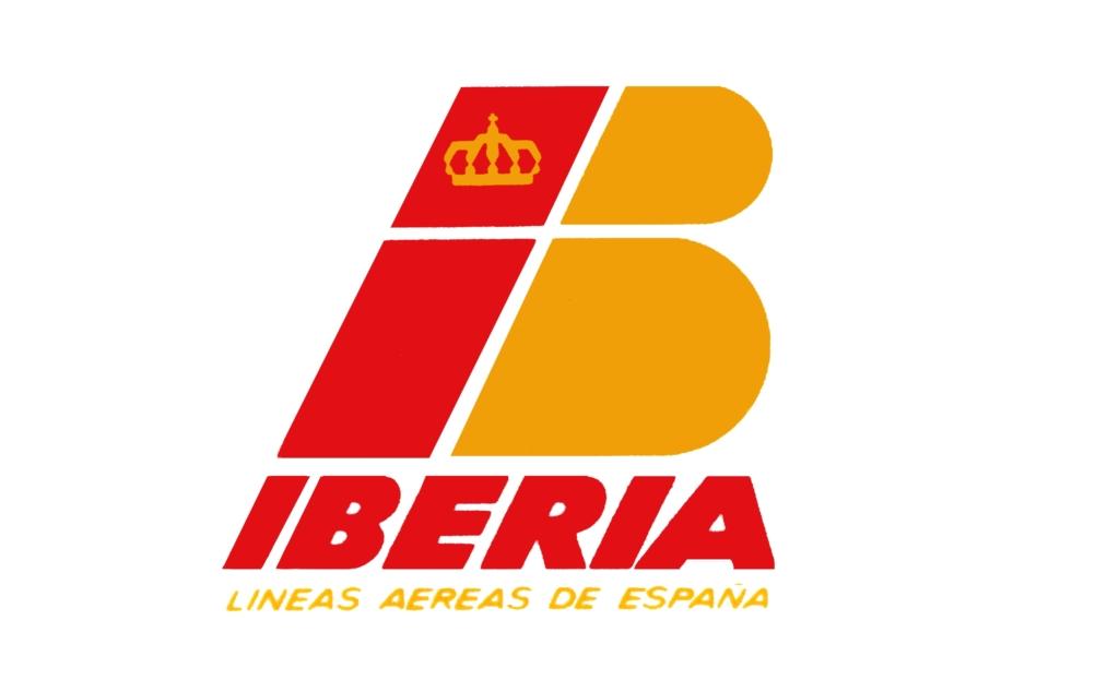 Noticias de aerolíneas. Logo de Iberia en 1977