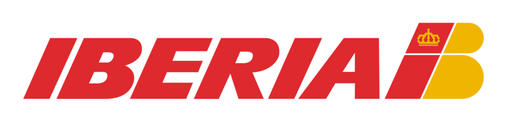 Noticias de aerolíneas. Logo de Iberia en 1992