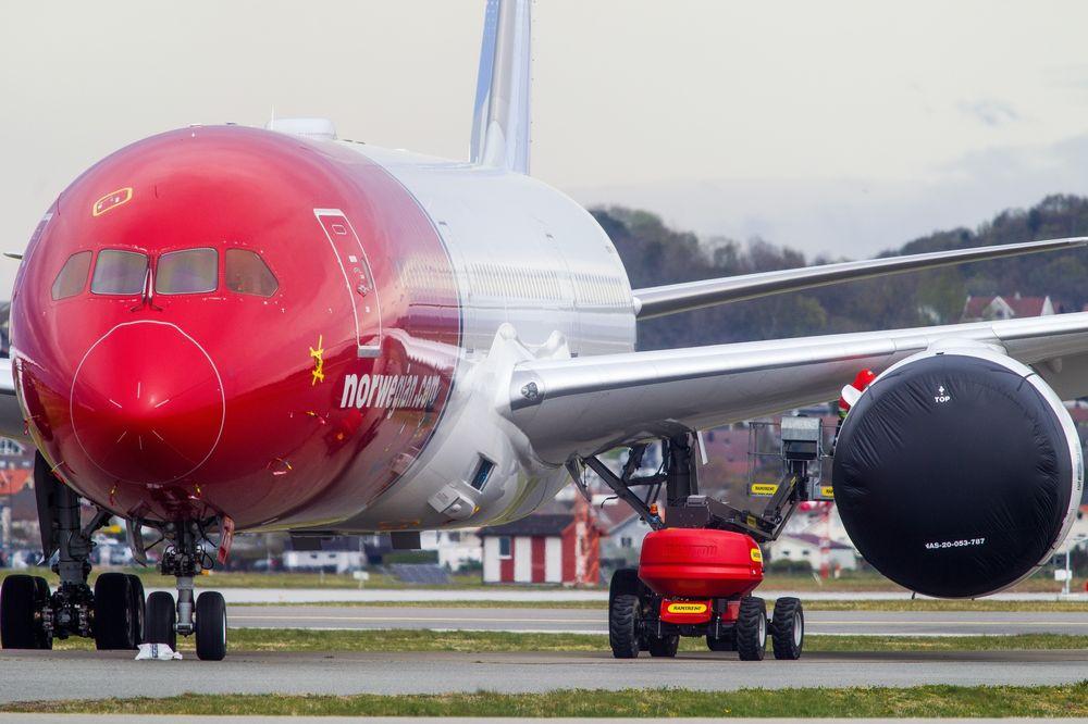 Noticias de aerolíneas. Boeing 787 de la compañía aérea Norwegian