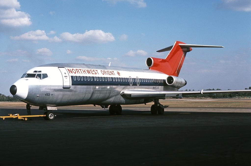 Noticias de aerolíneas. Noticias de aviones. Boeing 727 de Northwest Orient