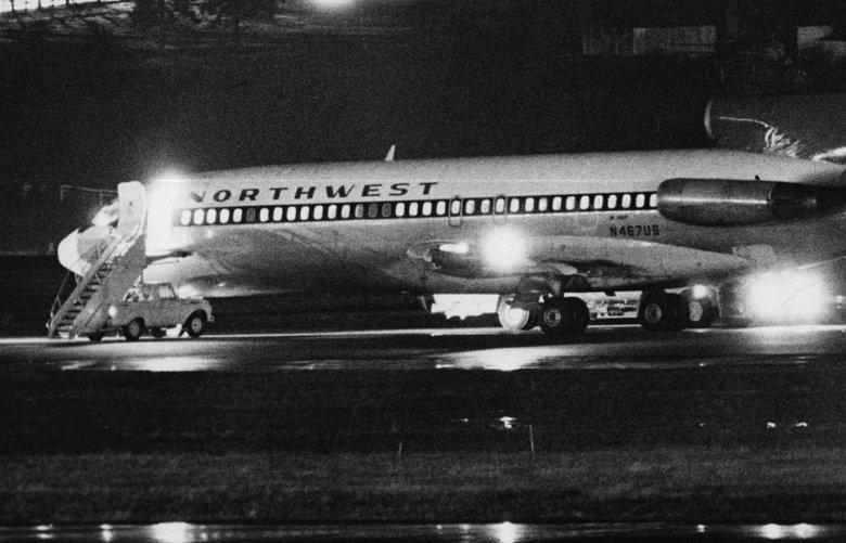 Noticias de aviones. Noticias de aerolíneas. Secuestro del avión de Northwest en Seattle