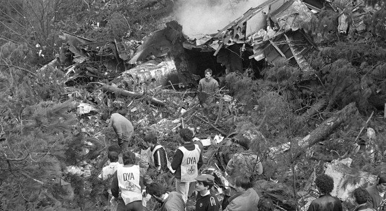 Noticias de aviones. Noticias de aerolíneas. Labores de rescate en accidente de Oiz, Bilbao