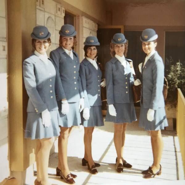 Noticias de aerolíneas. Noticias de aviones. Azafatas de la compañía norteamericana Pan Am