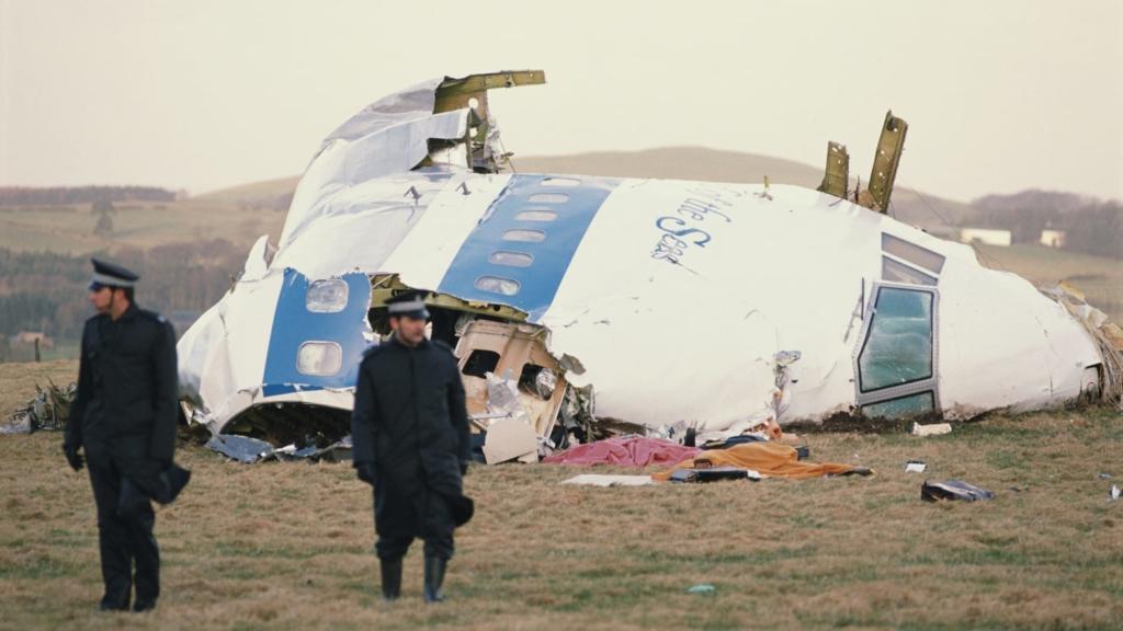Noticias de aerolíneas. Noticias de aviones. Restos del avión de Pan Am derribado en Lockerbie