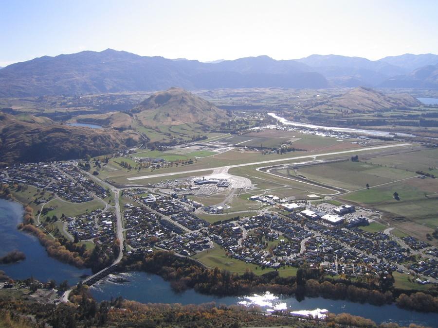 Noticias de aeropuertos. Noticias de aviones. Noticias de aerolíneas. Queenstown Airport en Nueva Zelanda
