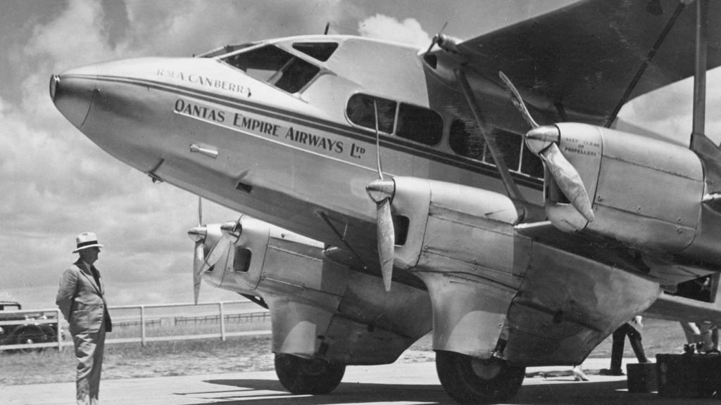 Noticias de aerolíneas. Noticias de aviones. De Havilland DH-86