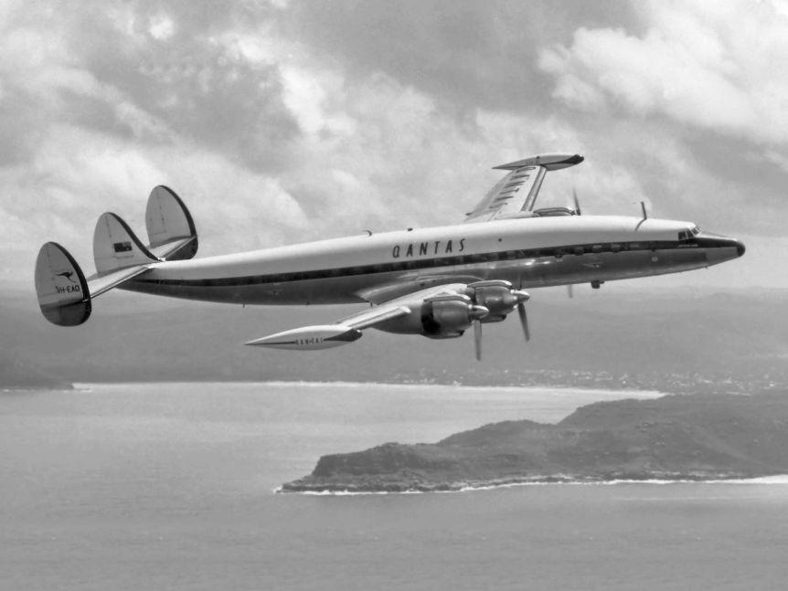 Noticias de aerolíneas. Noticias de aviones. Lockheed Constellation de Qantas