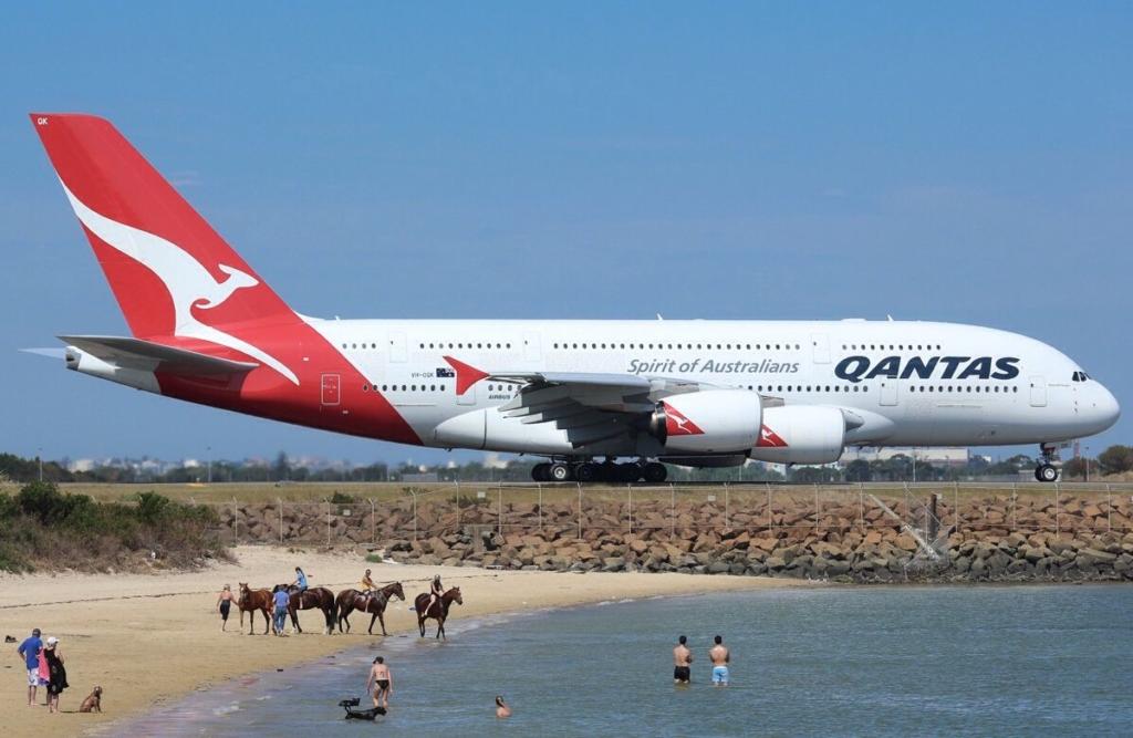 Noticias de aerolíneas. Noticias de aviones. Airbus A380 de Qantas