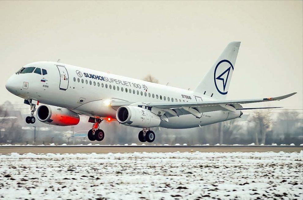 Noticias de aviones. Noticias de aerolíneas. Sukhoi Superjet 100