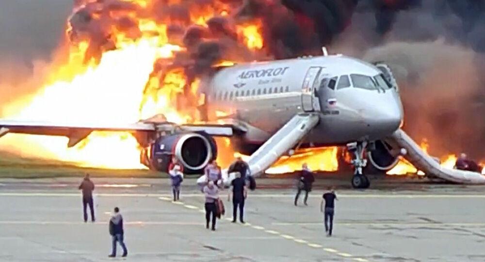 Noticias de aviones. Noticias de aerolíneas. Accidente de Sukhoi Superjet 100 de Aeroflot en Moscú