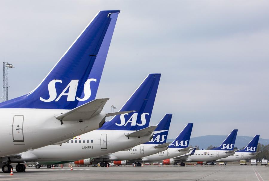 Noticias de aerolíneas. Noticias de compañías aéreas. Noticias de turismo. Aviones de la aerolínea SAS