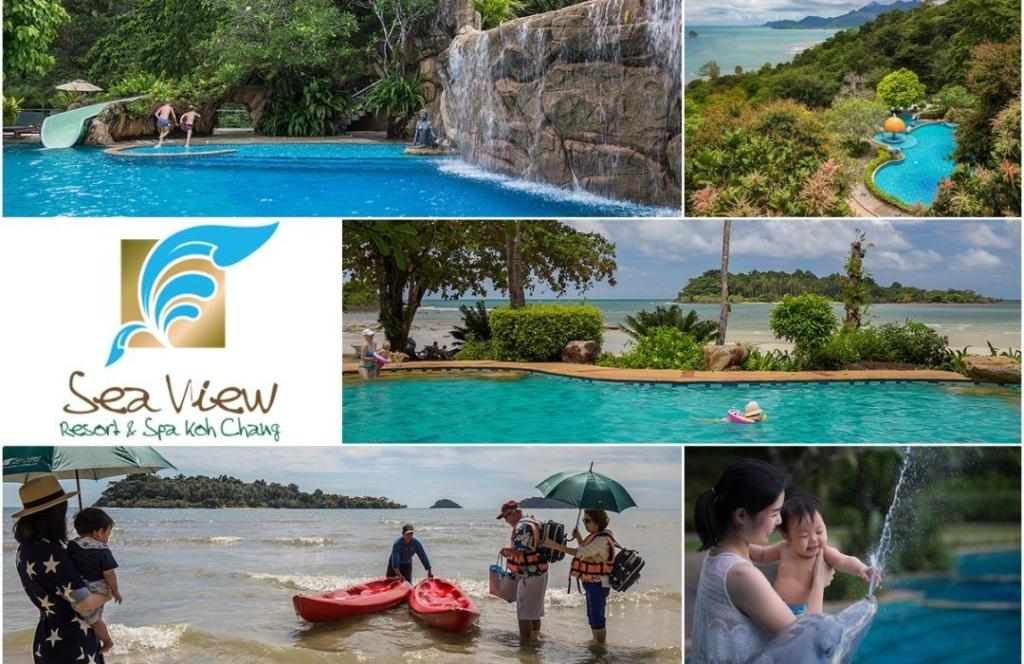 Noticias de turismo. Noticias de hoteles. Publicidad del hotel Sea View de Koh Chang, en Tailandia