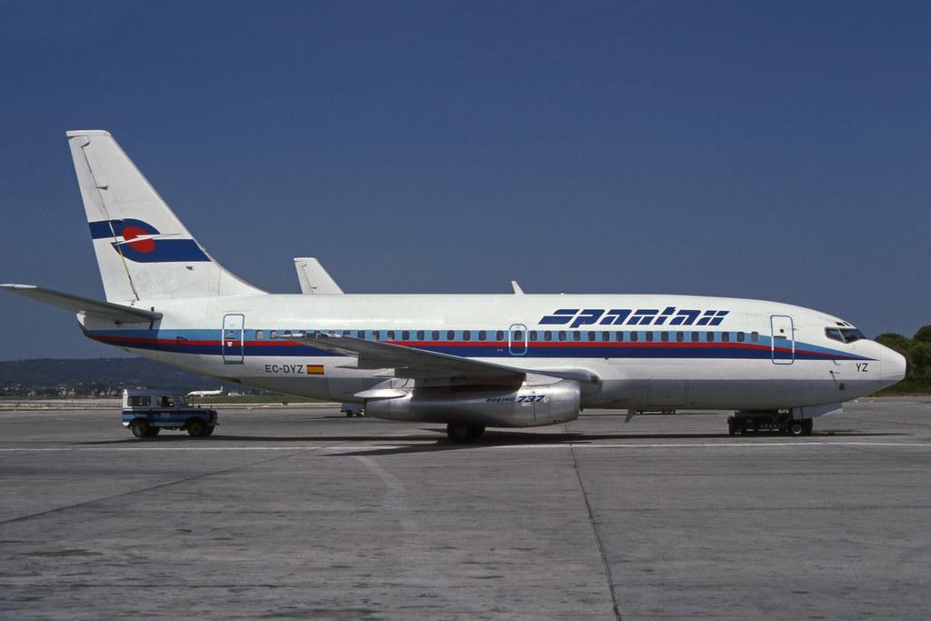 Noticias de aerolíneas. Noticias de aviones. Spantax
