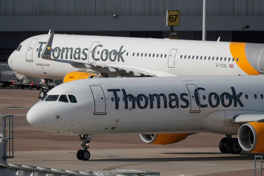 Noticias de aerolíneas. Airbus A321 de la compañía aérea Thomas Cook