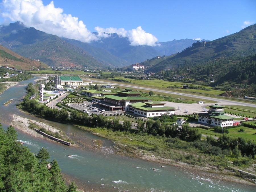 Noticias de aeropuertos. Noticias de aerolíneas. Noticias de aviones. Paro International Airport en Bután.