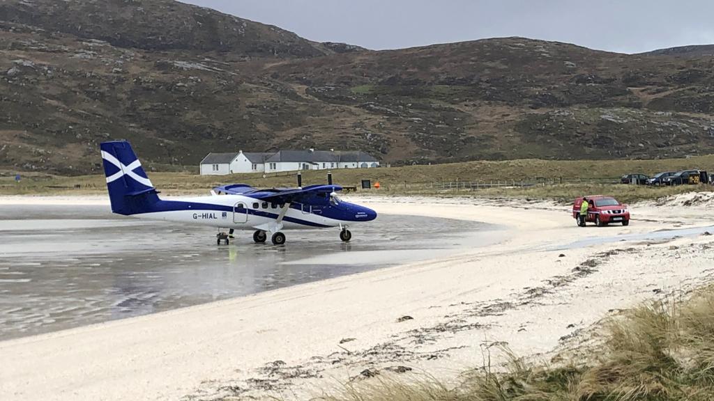 Noticias de aeropuertos. Noticias de aerolíneas. Noticias de aviones. Barra Airport en Escocia