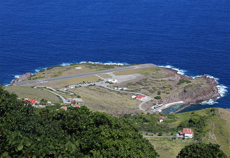 Noticias de aeropuertos. Noticias de aerolíneas. Noticias de aviones. Juancho E. Yrausquin Airport en Saba