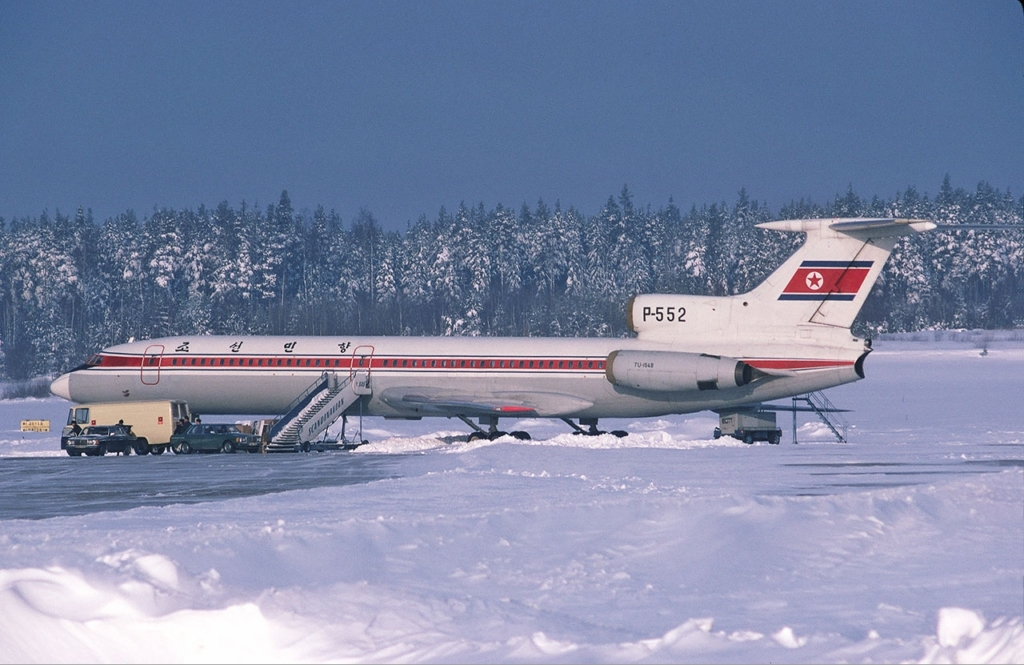 Noticias de aerolíneas. Noticias de aviones. Tupolev 154 de Chosongminhang.