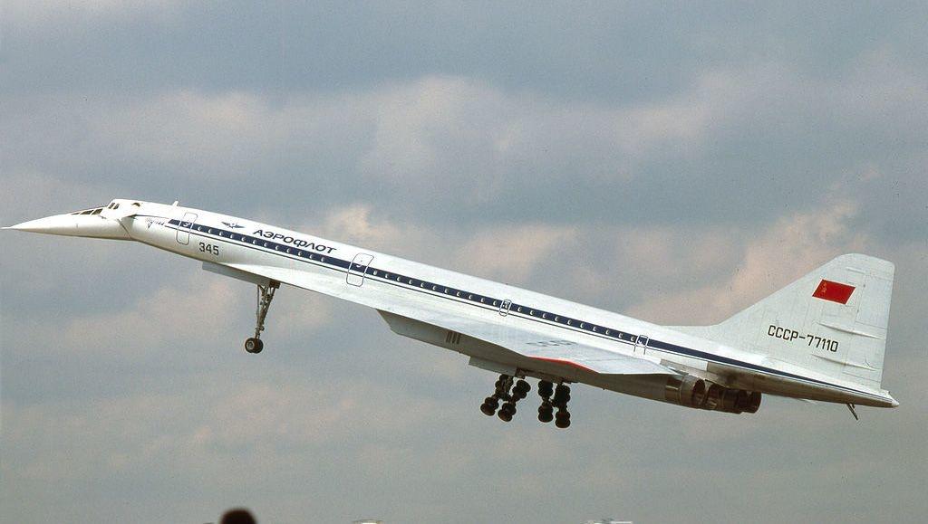 Noticias de aerolíneas. Noticias de aviones. Tupolev Tu-144